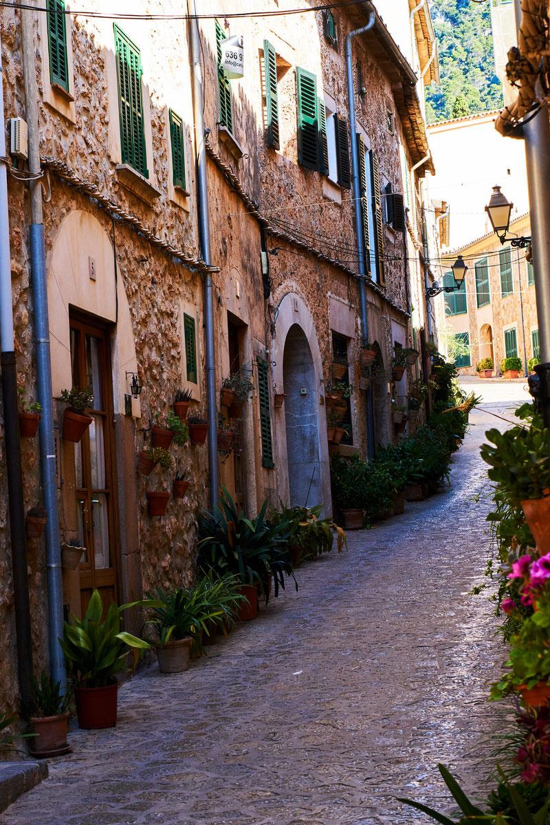 Fotospot Mallorca Fornalutx am Morgen fotografiert