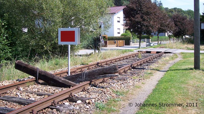 Bahnstrecke Weissenbach-Neuhaus - Hainfeld (Leobersdorfer Bahn); bei Hainfeld.