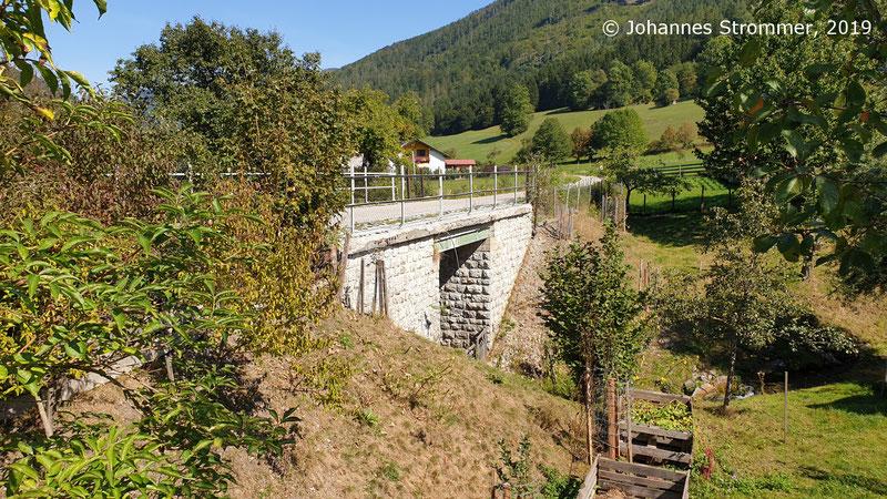 Brücke kurz vor der Hst. Lehenrotte