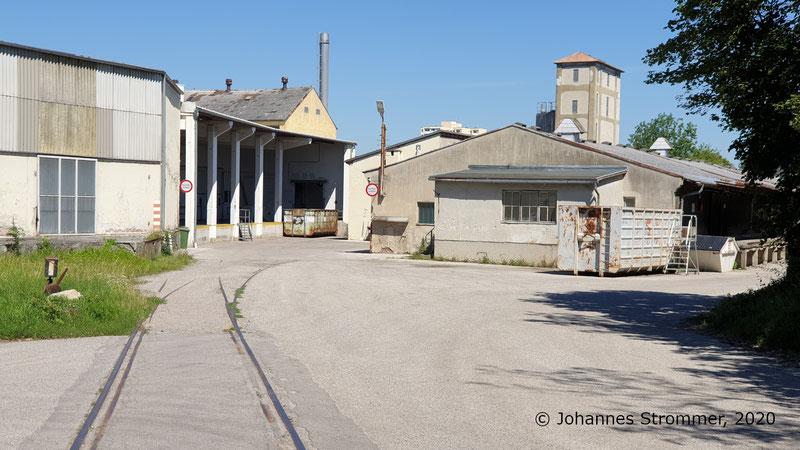 Anschlussgleis Papierfabrik Salzer Straßenbahn St. Pölten