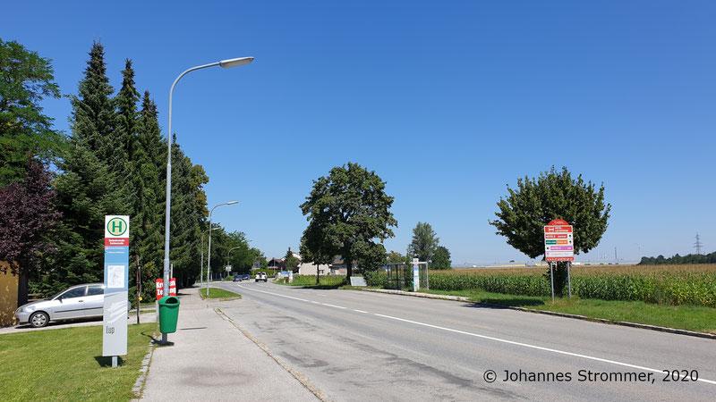 Haltestelle Spratzern der St. Pöltner Straßenbahn