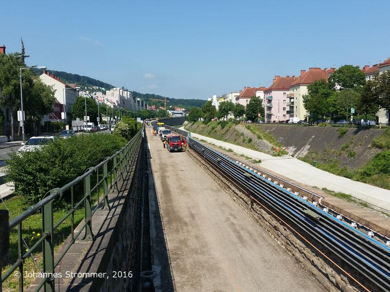 NEU4 - Modernisierung der U-Bahnlinie U4, Station Ober St. Veit