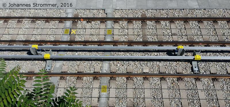 NEU4 - Modernisierung der U-Bahnlinie U4 (30.07.2016), zwischen den Stationen Unter St. Veit und Ober St. Veit