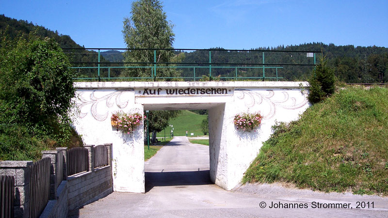 Ehemalige Brücke der Bahnstrecke Freiland - Türnitz
