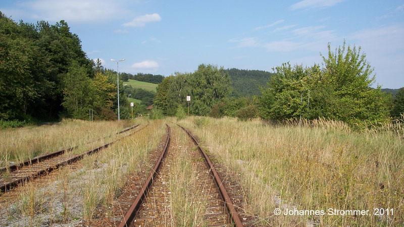 Bahnstrecke Weissenbach-Neuhaus - Hainfeld (Leobersdorfer Bahn); Bahnhof Kaumberg