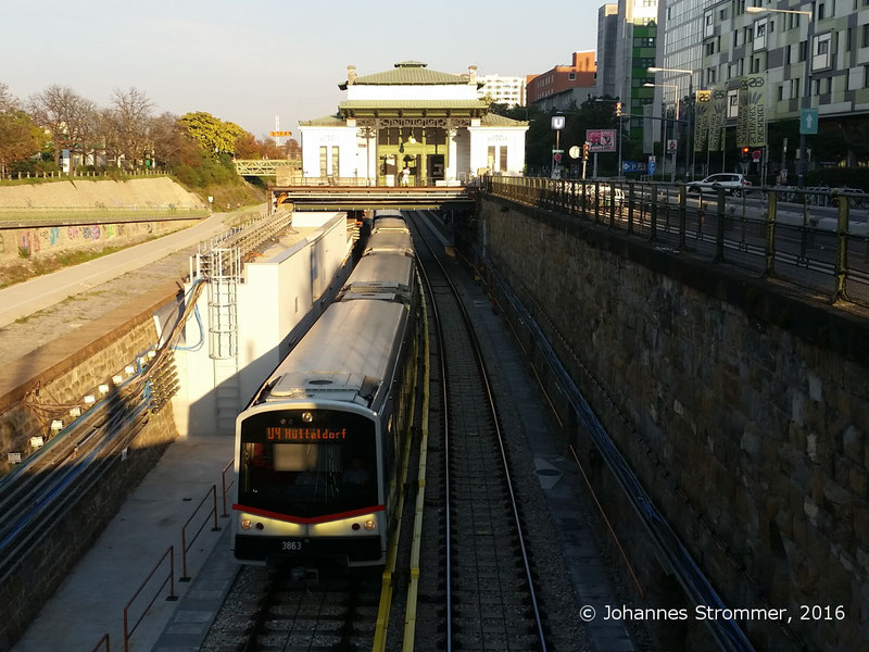 NEU4 - Modernisierung der U-Bahnlinie U4 (10.09.2016), Station Ober St. Veit
