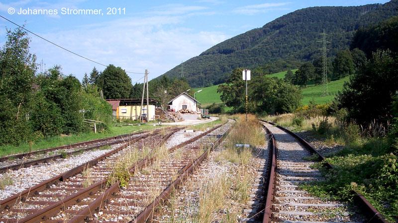 Bahnstrecke Weissenbach-Neuhaus - Hainfeld (Leobersdorfer Bahn); Bahnhof Altenmarkt-Thenneberg
