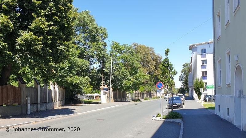 Herzogenburger Straße Anschlussgleis Firma Glanzstoff Straßenbahn St. Pölten