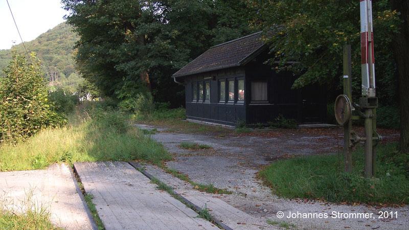 Bahnstrecke Weissenbach-Neuhaus - Hainfeld (Leobersdorfer Bahn); Hst. Altenmarkt an der Triesting 2011.