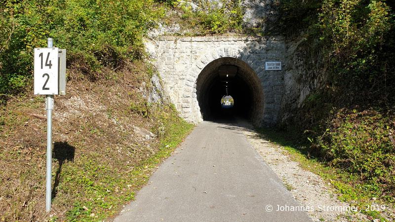 Opponitzer Tunnel der aufgelassenen Ybbstalbahn