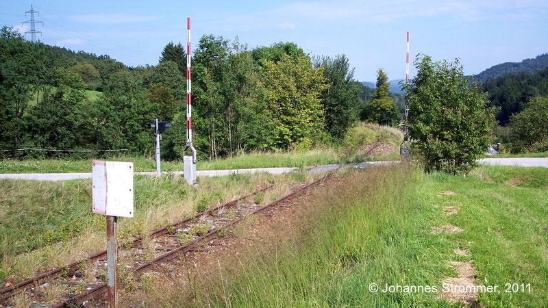 Bahnstrecke Weissenbach-Neuhaus - Hainfeld (Leobersdorfer Bahn); Bahnkilometer 34.8.