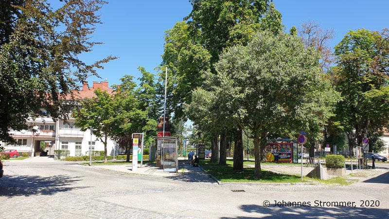 Endstelle der Straßenbahn St. Pölten in Harland