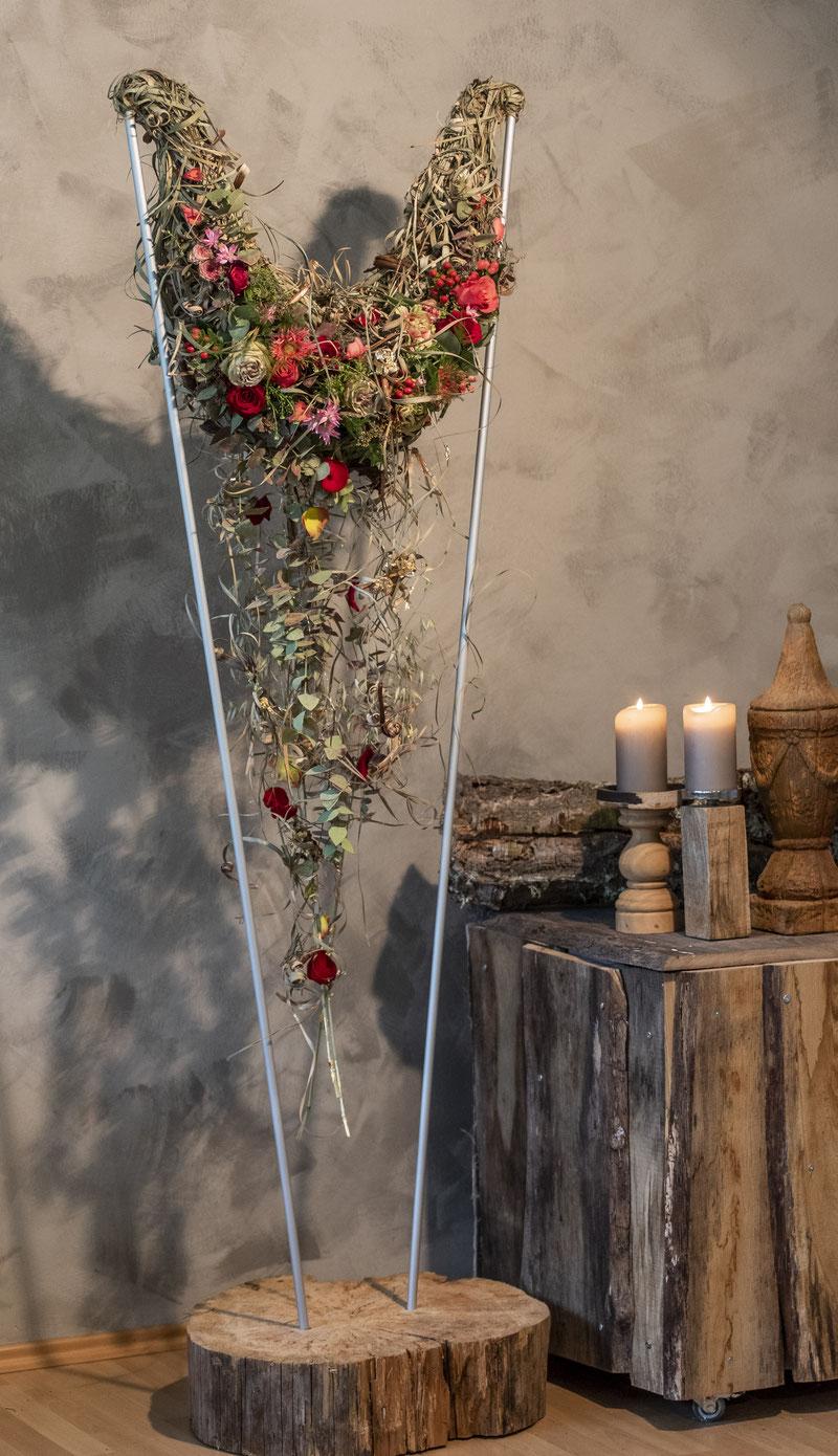 Tischdekoration, Hochzeitstischschmuck, Festlicher Tischschmuck,