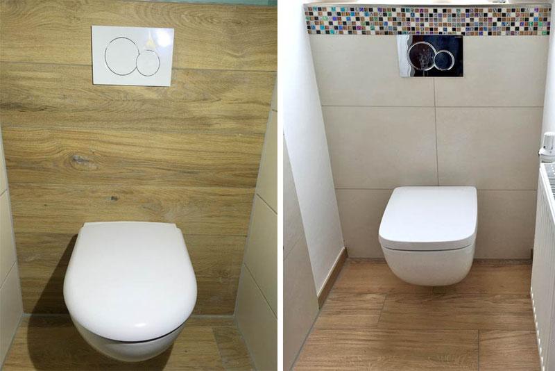 Toilette saniert