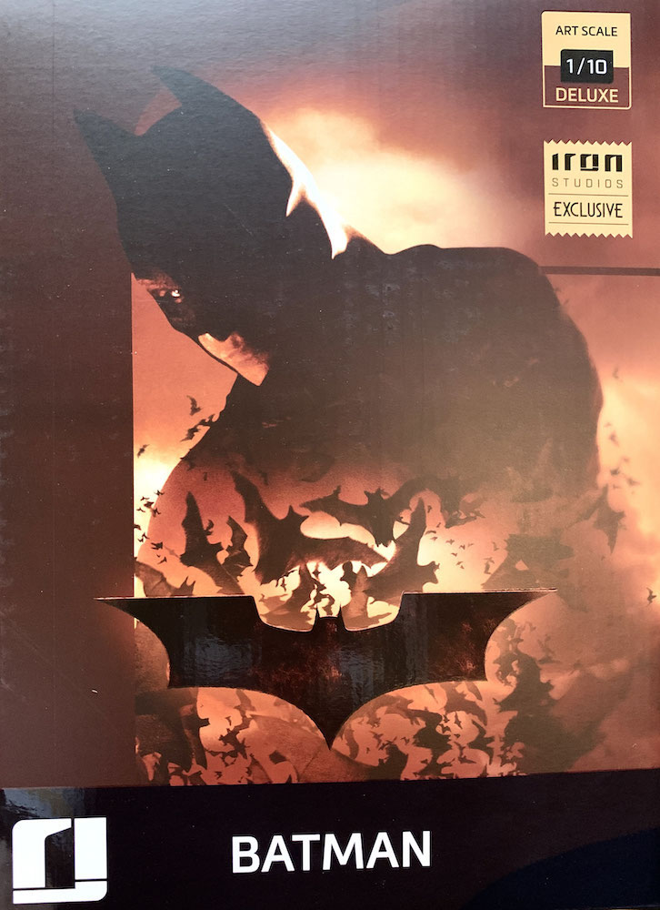 Batman Begins Event Exclusive 1/10 DC Comics BDS Art Scale Resin Statue 31cm Iron Studios
