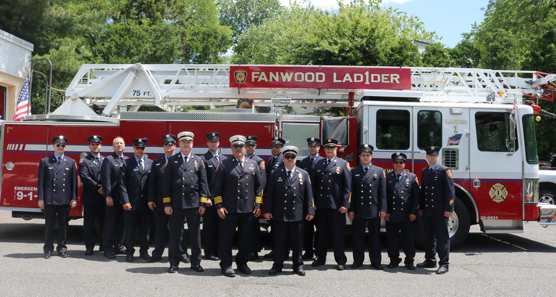Members of the Fanwood Fire Department - Memorial Day - 2019
