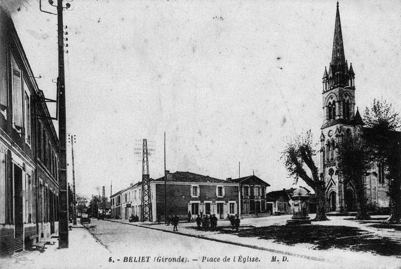 La maison des Estremé se situe à gauche de cette photo.