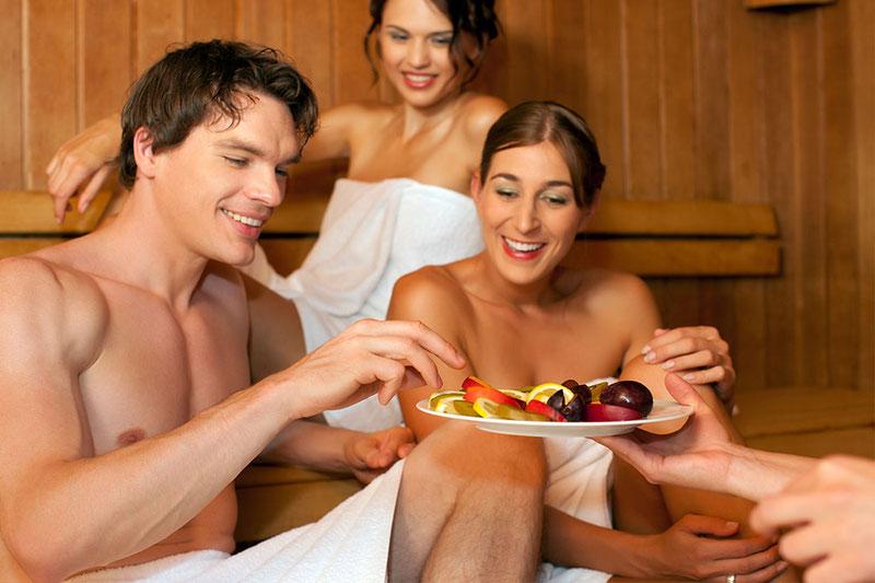 Essen vor oder nach der Sauna? - anjana Hamburg