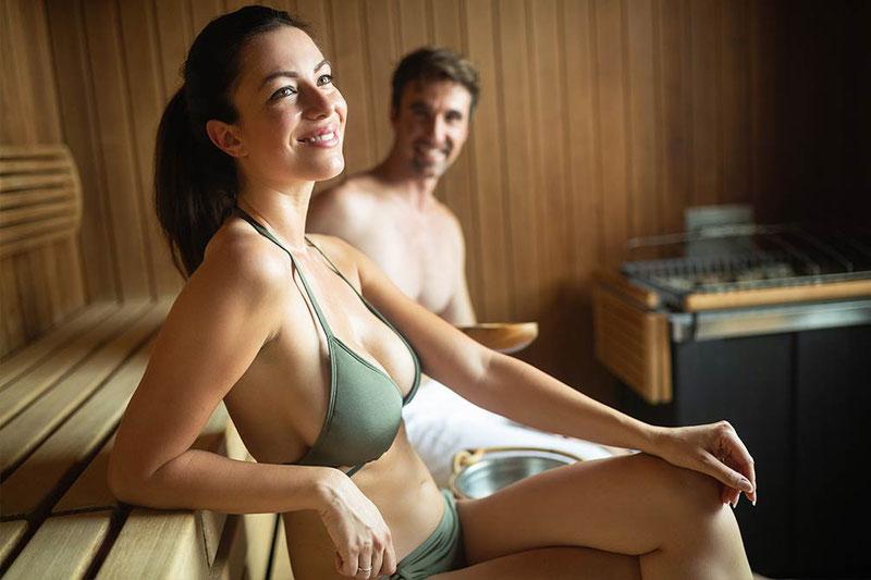 Textilfrei sauna AQUA DOME