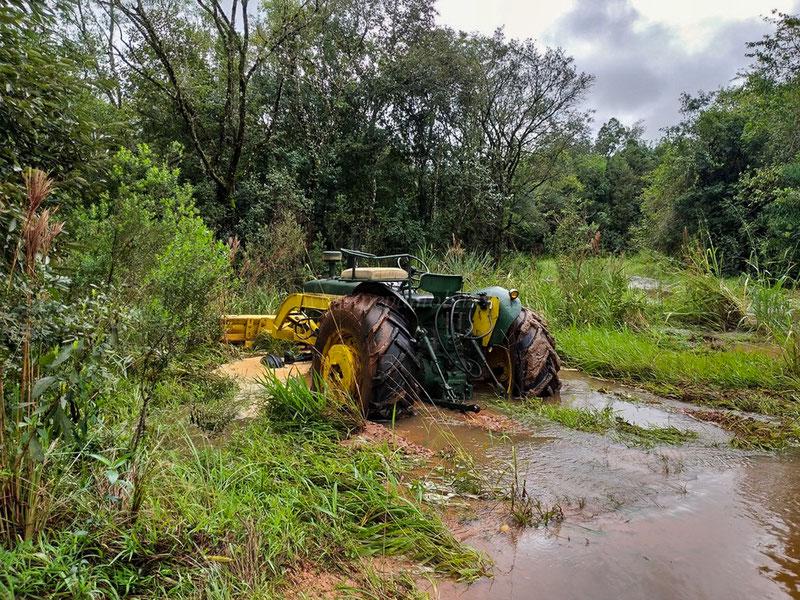 Hochwasser in Paraguay 2019