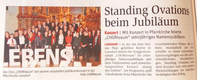 Bericht NÖN Melk KW41/17