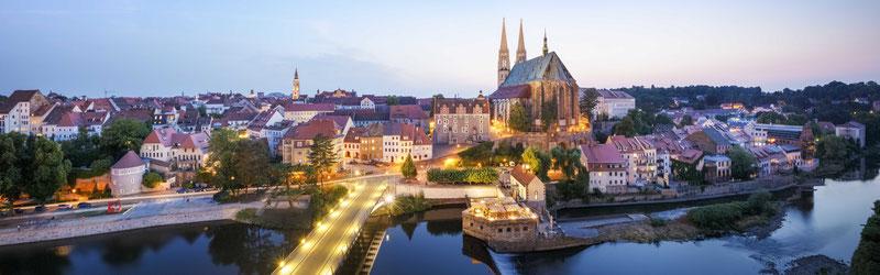 Blick auf Görlitz und die Altstadtbrücke © Moritz Kertzscher