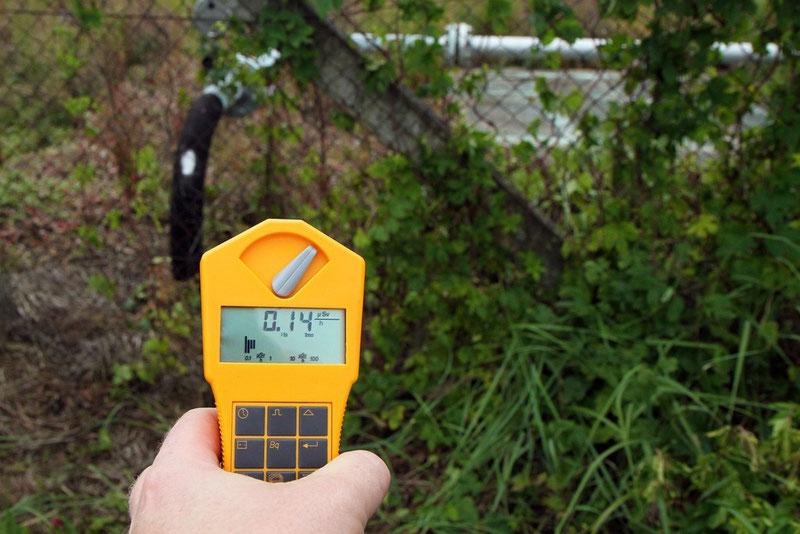 Die natürliche Hintergrundstrahlung liegt bei 0,14 Mikrosievert pro Stunde.