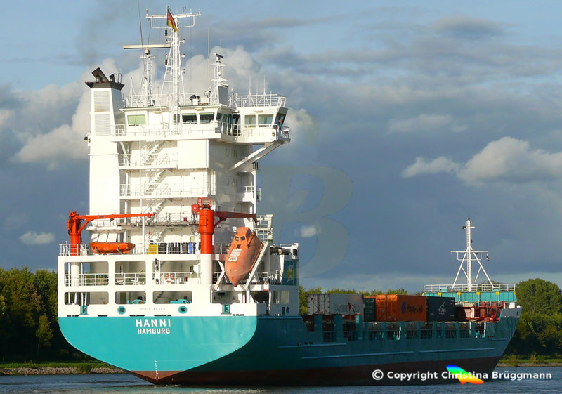 Feeder Containerschiff HANNI