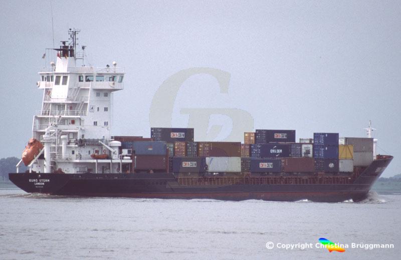 Feeder Containerschiff EURO STORM