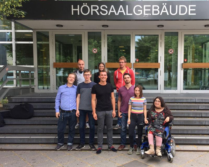 """Vortrag und Diskussion """"Das Ende der Hochschule"""", Universität Marburg 2016"""
