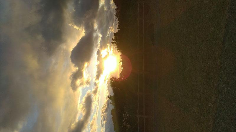 黒石森公園からの初日の出