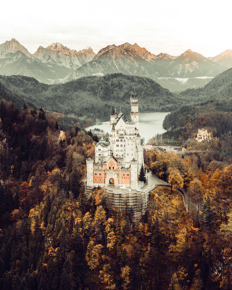 Schloss Neuschwanstein by picPond Photography