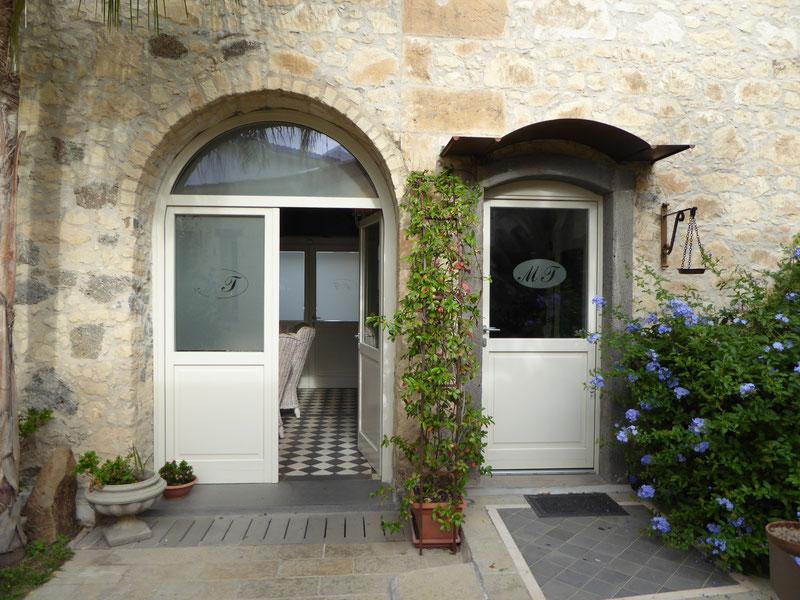 Eingangsbereich Hotel Maison Tresnuraghes