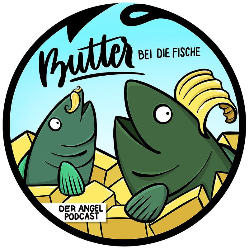 Informativ und Unterhaltsam, der Angel Podcast Butter bei die Fische kann beides
