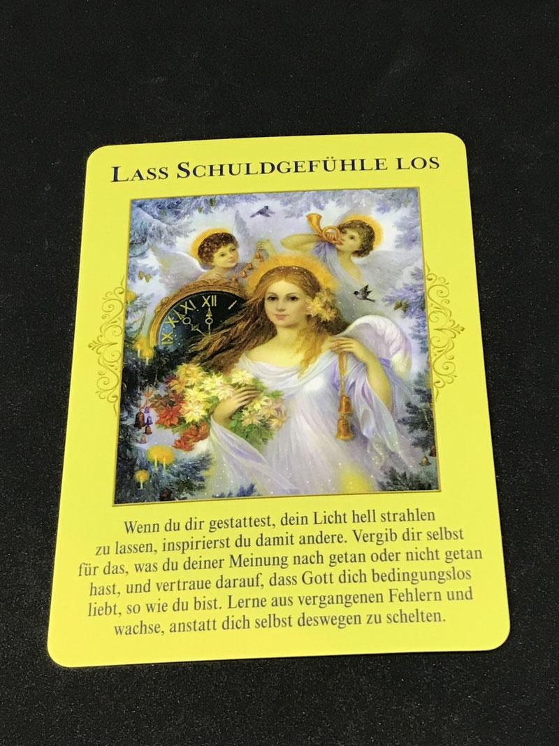 Das Orakel der himmlischen Fülle von Doreen Virtue auf Phönixzauber kostenlose Tagesbotschaft