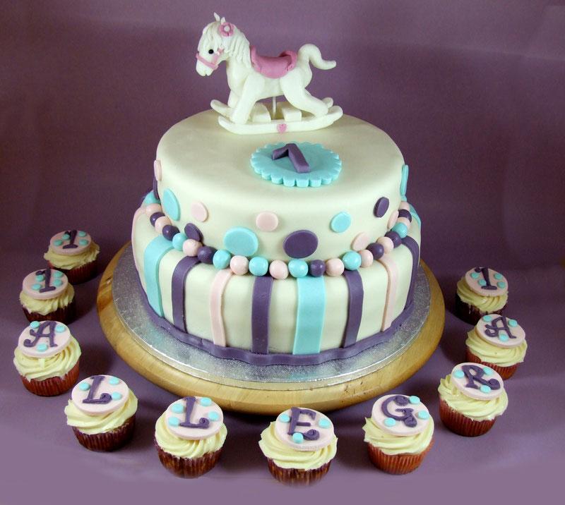 torta cavallo a dondolo-torta compleanno-dolci-la spezia- liguria-feste-eventi-cupcakes
