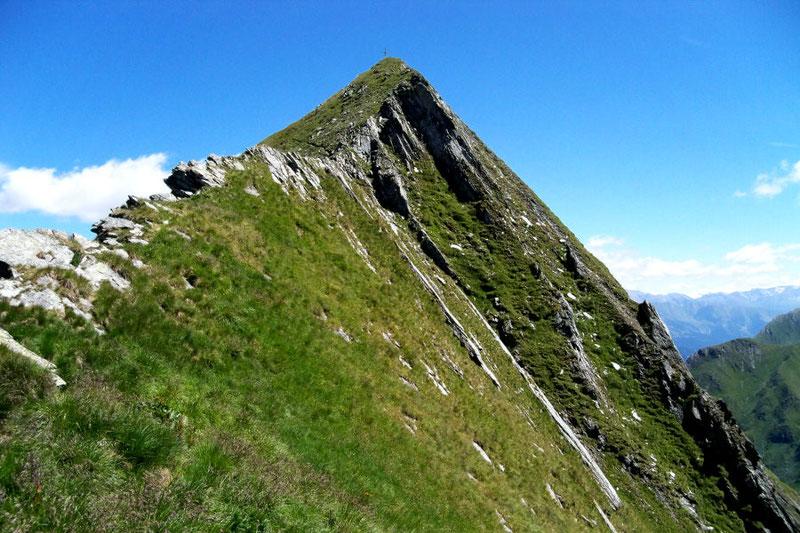 Gipfelbereich der Toinigspitze (2666 m)