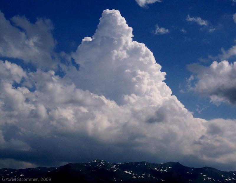 Hochreichende Haufenwolke (Cumulus congestus)