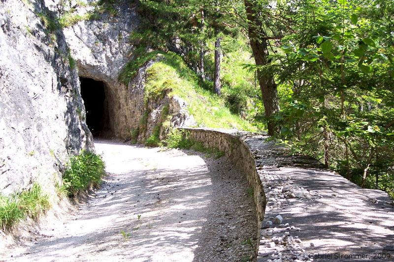 Straßentunnel nahe Hochreith (Mitterbach) 2008