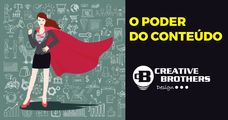 Marketing de conteúdo, Content Marketing, Arte, Design, Negócios - Creative Bros Design