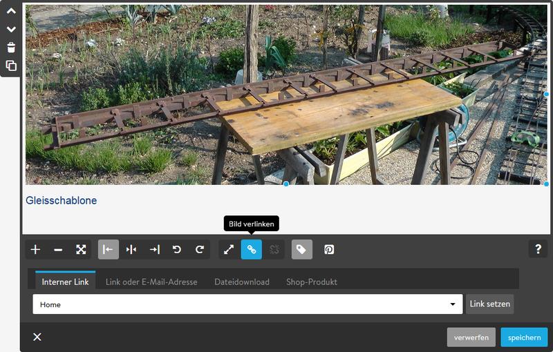 Einfügen von Bildern mit dem Homepagebaukasten Jimdo
