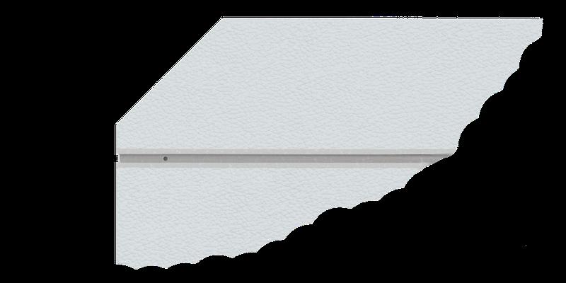 OnTruss EventBoard | charakteristische Kontur mit 45°-Kante