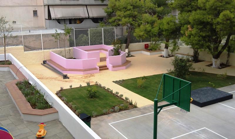 Dimitris Germanos Salles de classe en plein air