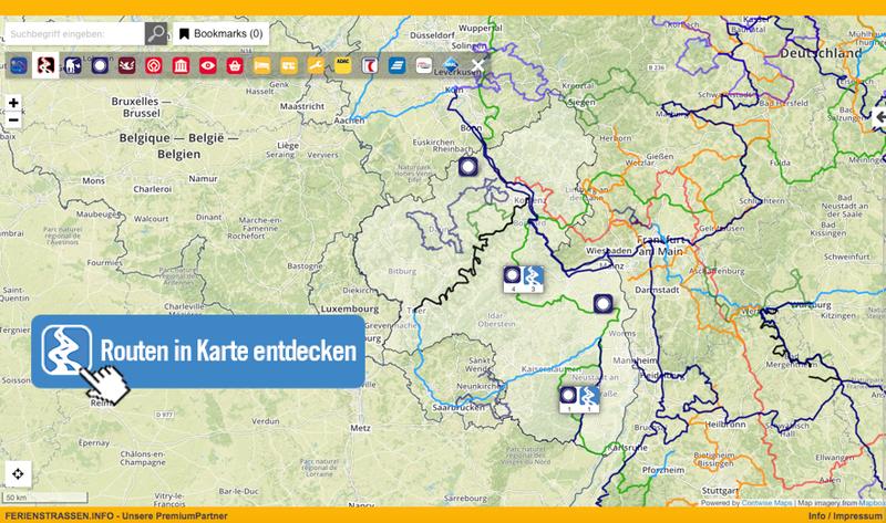 Die Weinregionen im WeinReich Rheinland-Pfalz in Karte entdecken!