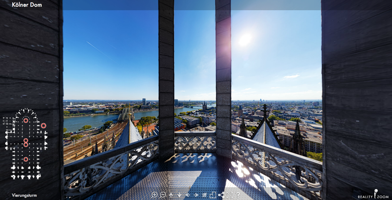 Der Kölner Dom in 3D (Bild anklicken)