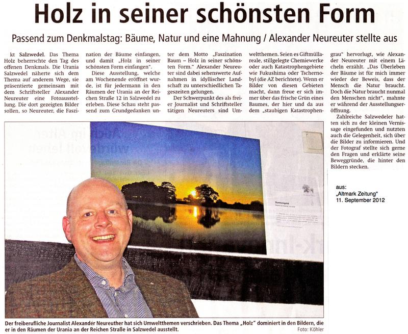 """aus: """"Altmark Zeitung"""", 11.09.2012"""