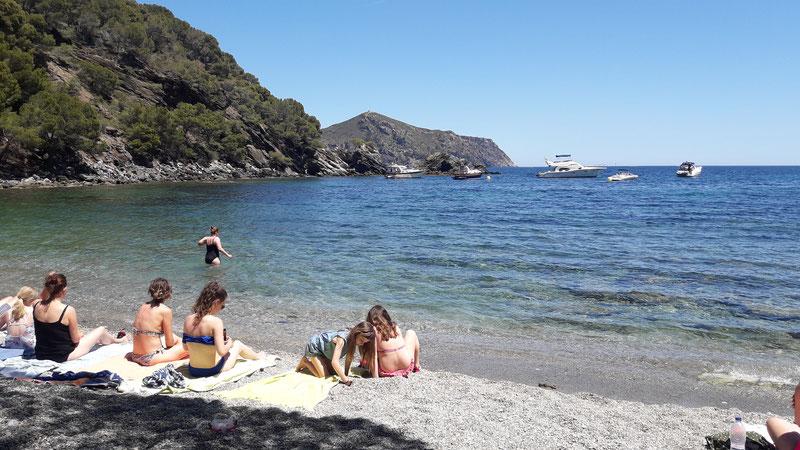 plage, baignade, plongée à Roses, snorkelling, vacances espagne