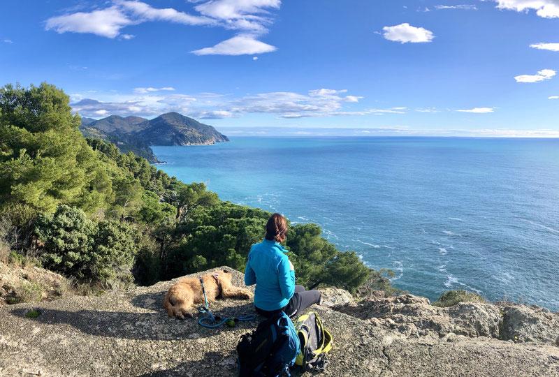 Heidi Pfeiffer hiking guide Framura Bonassola Liguria