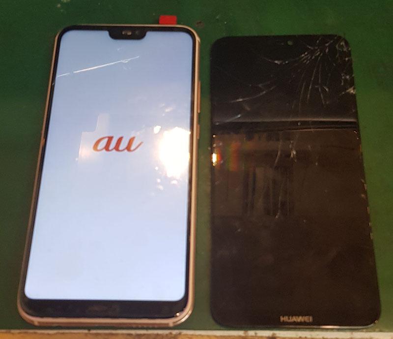Huawei P20 LITE画面修理