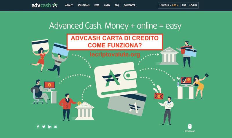 advcash come funziona come spendere bitcoin in italia